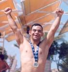 1-In aquatics Moutafa Mahmoud A. Hamid shouted I am the winner of the Gold Medal