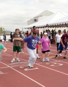 Special Olympics' Team USA athletes competing in athletics begin their training at San Diego State University today (courtesy: Nancy Brown)