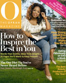 O Magazine's April issue is on newsstands now.