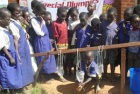 Students in Malawi learn the importance of hand-washing