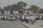 Tour of Port Au Prince Haiti - Cash for Work Crew