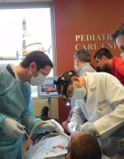 Special Olympics Athlete Alex receives dental care