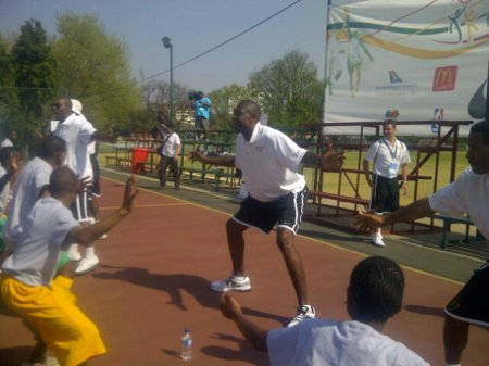 Dikembe Special Olympics