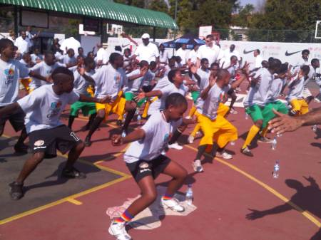 South Africa Basketball Without Borders Special Olympics