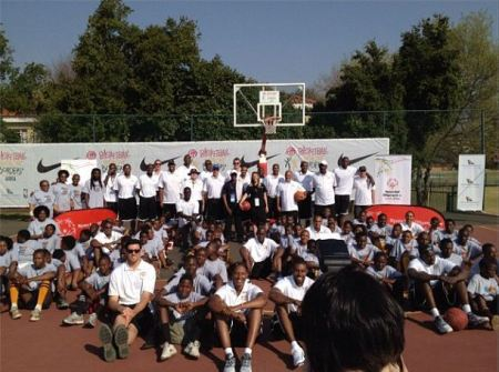 South Africa Basketball Without Borders Camp Special Olympics