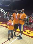 Unified basketball AC Green, Lorenzo Davis II