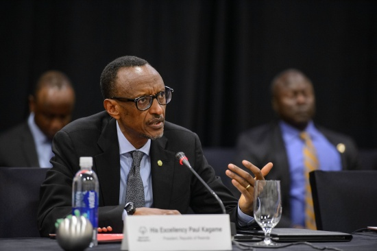 His Excellency Paul Kagame, President, Republic of Rwanda